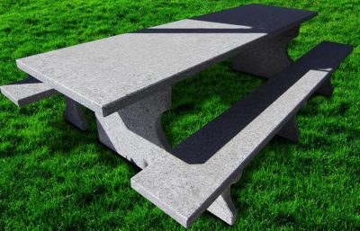tavolo in serizzo da giardino